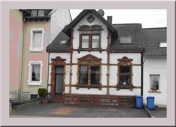 Das ehemalige Haus von Tante Lena wie es heute aussieht