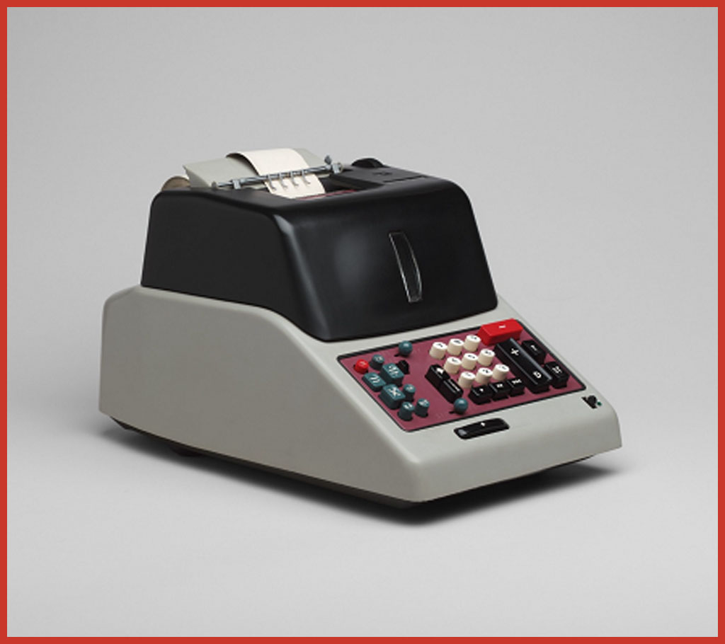 Die Olivetti Divisumma 24. Die vielleicht erfolgreichste Rechenmaschine von Olivetti.